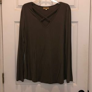 Tops - Green piko